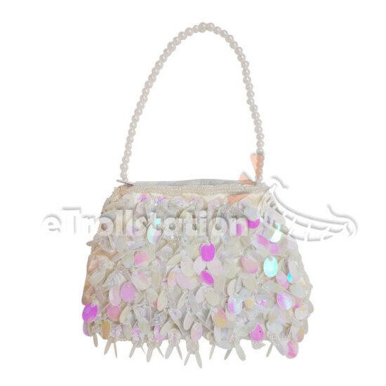 Stylish Little Girl's Dressy Sequined Purse Jazzy Dressup Small Lady Bag Sequin