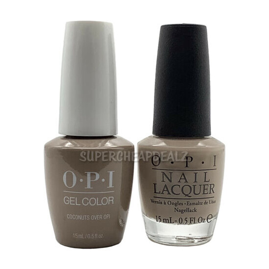 OPI GelColor + Nail Lacquer 15ml / 0.5oz - 200+ MATCHING DUO SET - AUTHENTIC