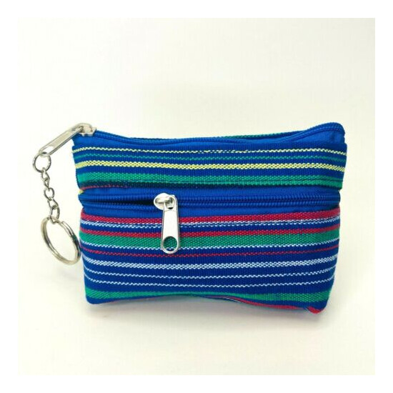 WOVEN COIN CHANGE PURSE POUCH PURSE MAYAN MONEDERO MADE IN MEXICO