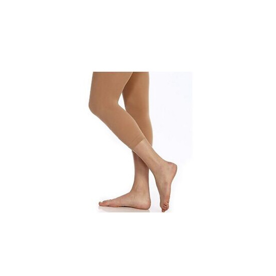 Body Wrappers A33 Jazzy Tan Women's Size Small/Medium Footless Tights