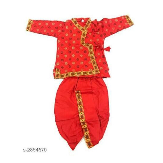 Pure Cotton Toddler Boy's Traditional Wear (Dhoti Style)