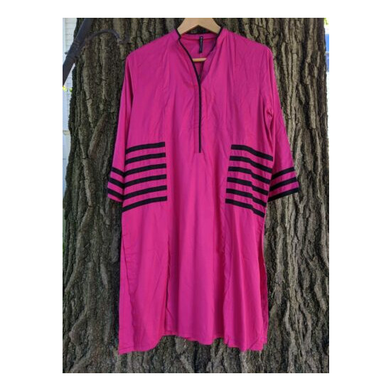 NEW - Embroidered Ready to Wear PakistaniKurta - Tunic for Women
