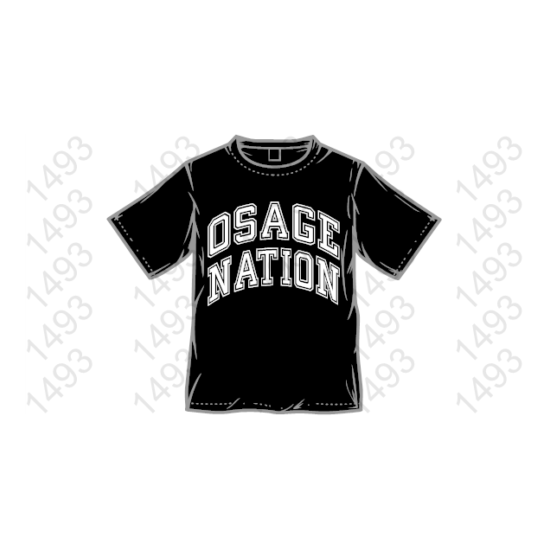 OSAGE NATION 8x COLORS AVAILABLE Native American Ipow wow FREE SHIP t-shirt