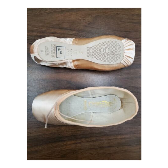 NEW - Freed of London Classic DV pointe shoes - size 3XX - assorted makers