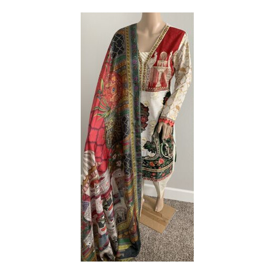 Beautiful Embroidered lawn suit