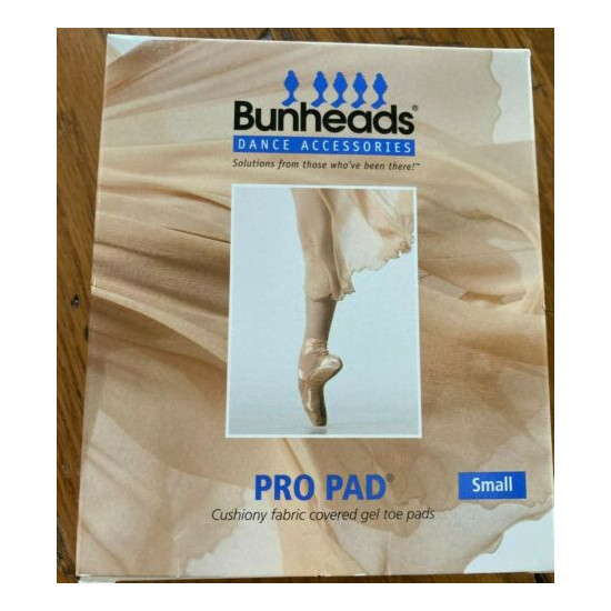 Bunheads Pro Pad BH1215 fabric covered gel toe pad -All sizes LOWEST PRICE HERE