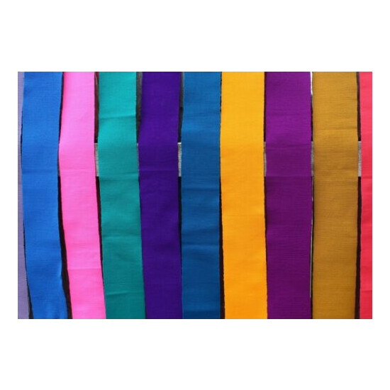 Mexican Belts / Sash Wrap around Hand Woven Multiple colors Hippie Boho Frida